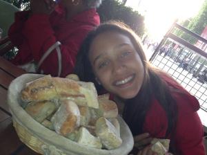 Bread was EVERYWHERE!