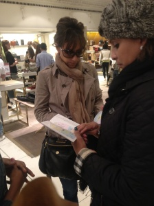Strategizing at Harrod's
