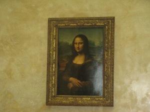 Mona Lisa! (smaller than I expected)